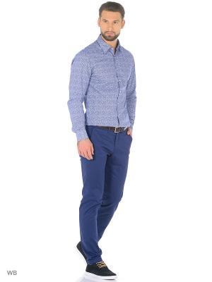 Рубашка - TANARO MANGO MAN. Цвет: темно-синий