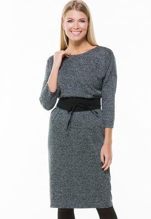 Платье Remix. Цвет: серый