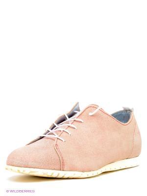 Кеды El Tempo. Цвет: бледно-розовый