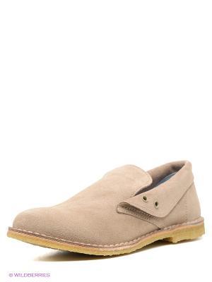 Ботинки El Tempo. Цвет: бежевый