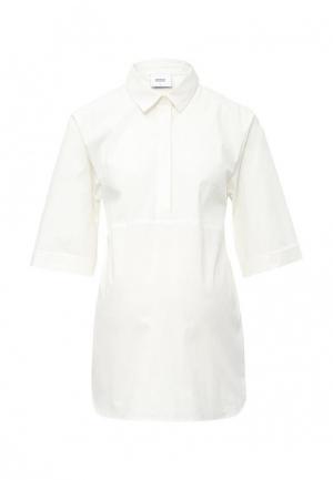 Блуза Mamalicious. Цвет: белый