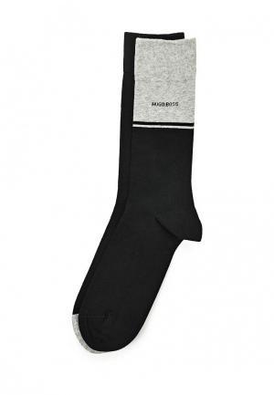 Комплект носков 2 пары Boss Hugo. Цвет: черный