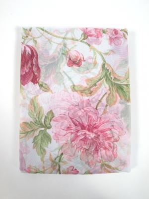 Штора Jenis Rose 200х270 см Ivett Classic. Цвет: розовый, белый