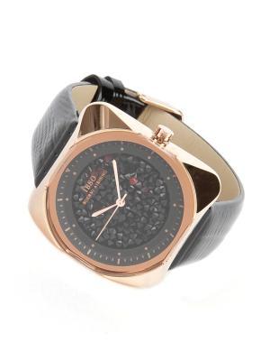 Часы на ремне IBSO. Цвет: черный, золотистый