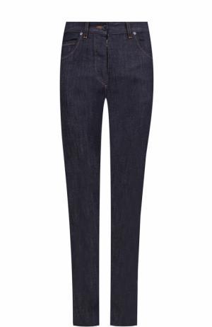 Однотонные джинсы прямого кроя Maison Margiela. Цвет: темно-синий