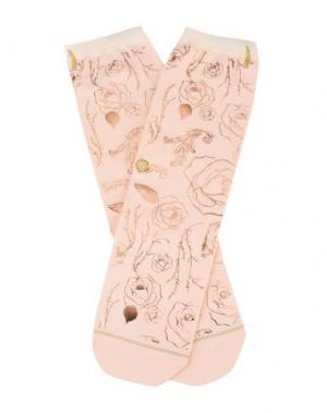 Короткие носки STANCE. Цвет: светло-розовый