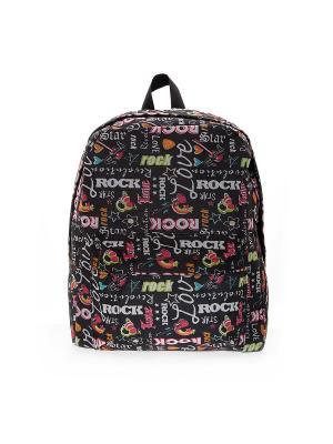 Рюкзак 3D Bags. Цвет: черный, красный