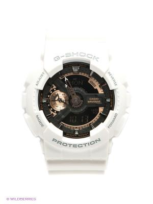 Часы G-SHOCK GA-110RG-7A CASIO. Цвет: белый