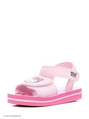 Шлепанцы Hello Kitty. Цвет: розовый