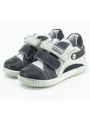 Ботинки King Boots. Цвет: темно-синий, голубой