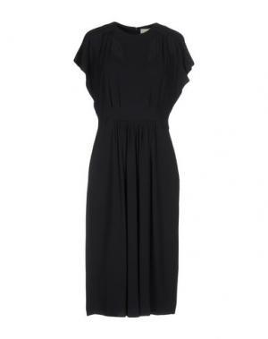 Платье до колена ALYSI. Цвет: темно-синий