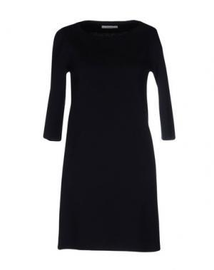 Короткое платье BP STUDIO. Цвет: темно-синий