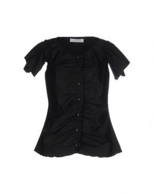 Pубашка KRISTINA TI. Цвет: черный