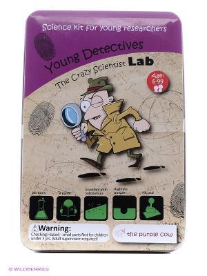 Эксперименты Юный детектив. Лаборатория сумасшедшего ученого. THE PURPLE COW. Цвет: фиолетовый