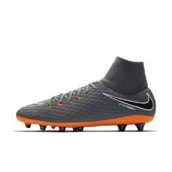 Мужские футбольные бутсы для игры на искусственном газоне  Hypervenom Phantom III Academy Dynamic Fit AG-PRO Nike. Цвет: серый