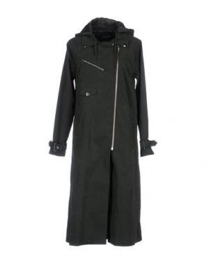 Легкое пальто OBEY PROPAGANDA. Цвет: зеленый-милитари