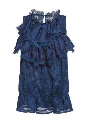 Блуза Arefeva. Цвет: синий
