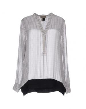 Блузка TONY COHEN. Цвет: белый
