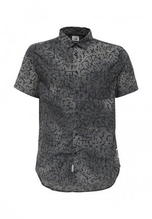 Рубашка Quiksilver. Цвет: черно-белый