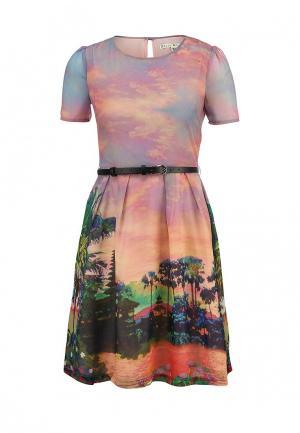 Платье Uttam Boutique. Цвет: розовый