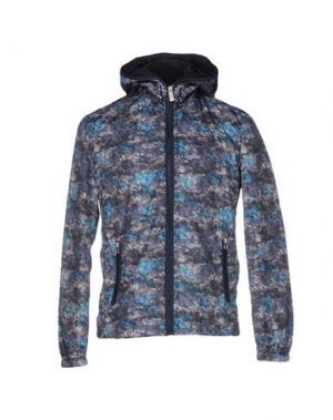 Куртка SSEINSE. Цвет: бирюзовый