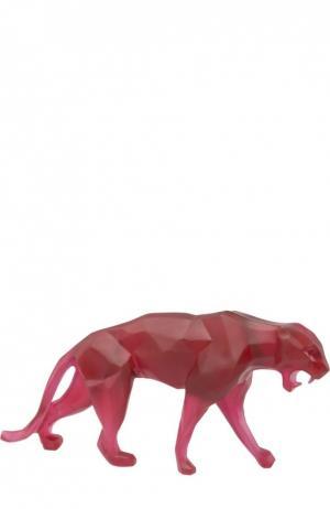 Скульптура Wild Panther Daum. Цвет: бесцветный