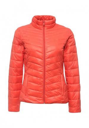 Куртка утепленная Time For Future. Цвет: коралловый
