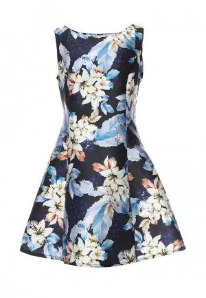 Платье Sweet Miss. Цвет: синий