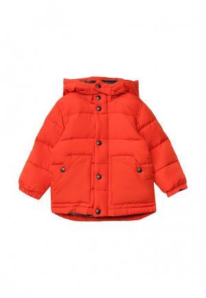 Куртка утепленная Gap. Цвет: оранжевый