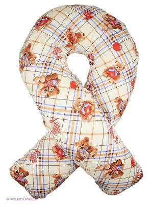 Подушка для беременных Здоровье и комфорт. Цвет: светло-коричневый