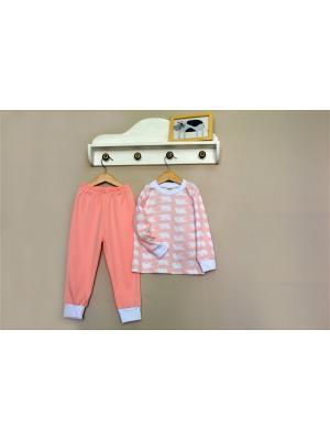 Пижама Baby Boom. Цвет: бледно-розовый