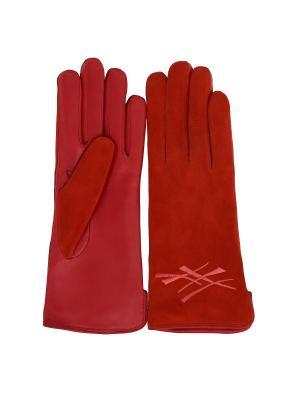 Перчатки PerstGloves. Цвет: красный
