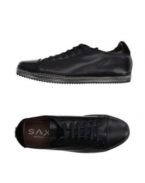 Низкие кеды и кроссовки SAX. Цвет: темно-синий