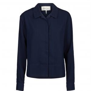 Рубашка Argenteuil AND LESS. Цвет: темно-синий