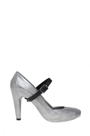 Туфли Lo Res Pump United Nude. Цвет: серый