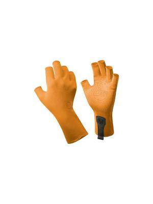 Перчатки рыболовные BUFF Sport Series Water Gloves Glacier Blue. Цвет: оранжевый