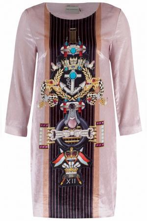 Платье Mary Katrantzou. Цвет: розовый