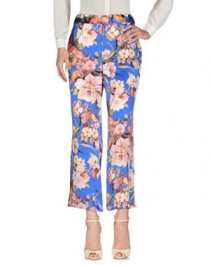 Повседневные брюки AGNESE GALLAMINI. Цвет: ярко-синий