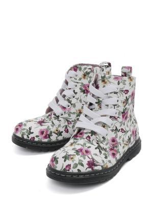 Ботинки VivaKid. Цвет: белый