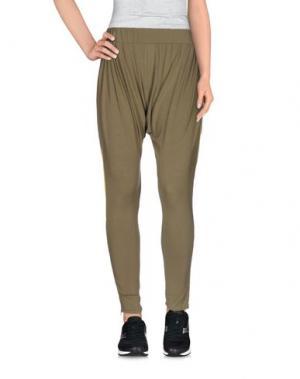 Повседневные брюки RED SOUL. Цвет: зеленый-милитари