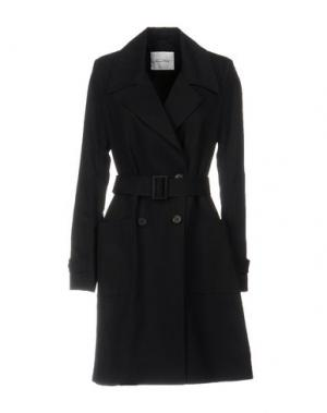 Легкое пальто AMERICAN VINTAGE. Цвет: темно-синий