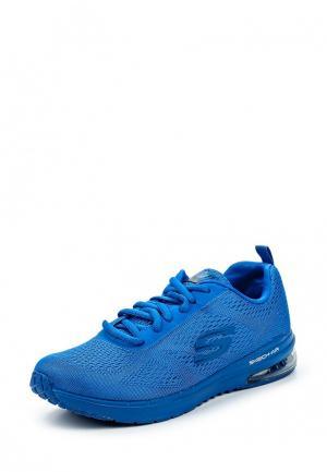 Кроссовки Skechers. Цвет: синий