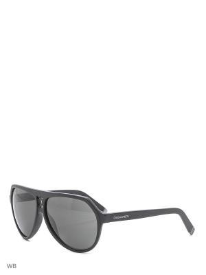 Солнцезащитные очки DQ 0058 02A Dsquared2. Цвет: черный