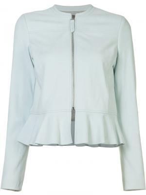 Куртка с расклешенным подолом Rebecca Taylor. Цвет: синий