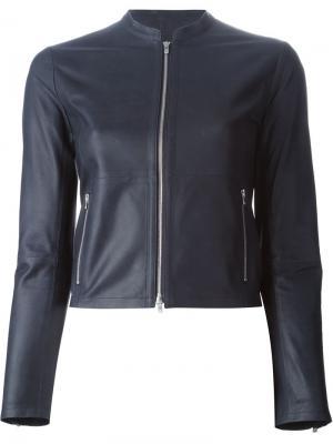 Укороченная куртка на молнии Raw +. Цвет: синий