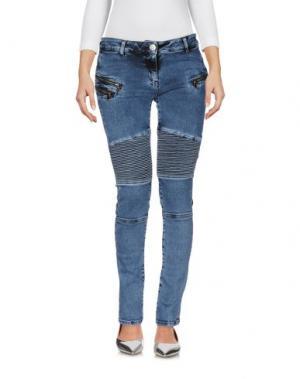 Джинсовые брюки KI6? WHO ARE YOU?. Цвет: синий