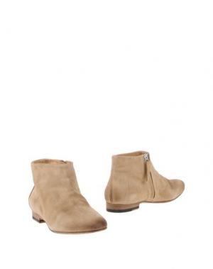 Полусапоги и высокие ботинки GAIA D'ESTE. Цвет: песочный