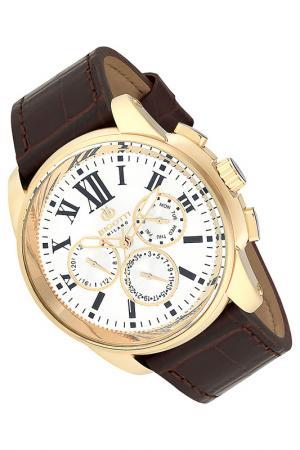 Часы BIGOTTI MILANO. Цвет: коричневый