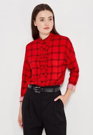 Блуза Befree. Цвет: красный