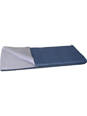 Спальный мешок одеяло Бирр +6 Greenell. Цвет: синий